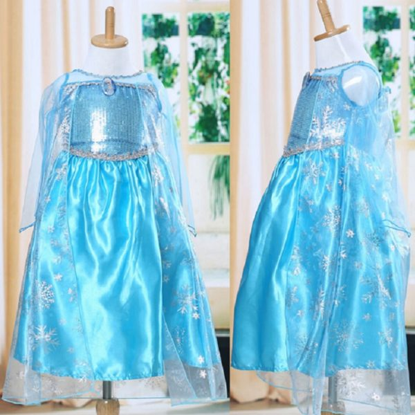 00501high-quality-girls-princess-anna-elsa-cosplay-costume-kids-party-dress
