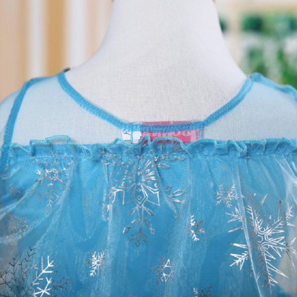 00504high-quality-girls-princess-anna-elsa-cosplay-costume-kids-party-dress