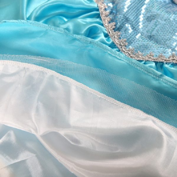 00506high-quality-girls-princess-anna-elsa-cosplay-costume-kids-party-dress-6