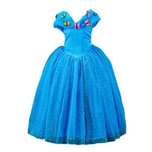 01301new-girls-movie-cosplay-costume-fairy-cinderella-princess-dress-fancy-bows-party-performances-dresses-kids