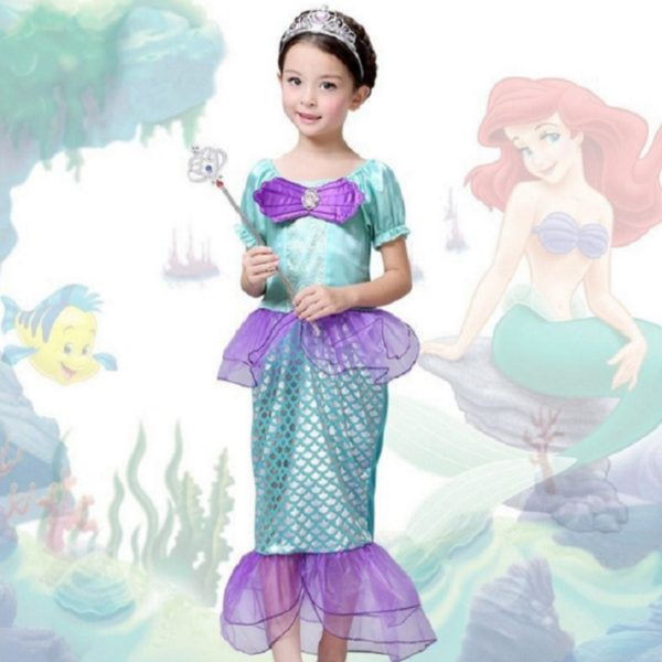 01401the-little-mermaid-kids-girls-dress-princess-cosplay-halloween-costume-hot