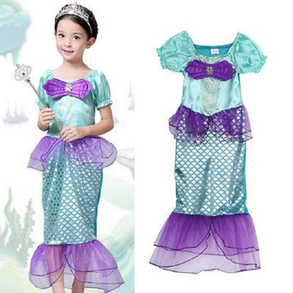 01402the-little-mermaid-kids-girls-dress-princess-cosplay-halloween-costume-hot