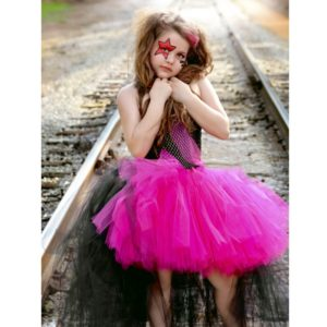 01701-rockstar-queen-girls-dress-birthday-outfit-photo-prop-halloween-costume-little-girl-tutu-dress-funking-girls-dresses