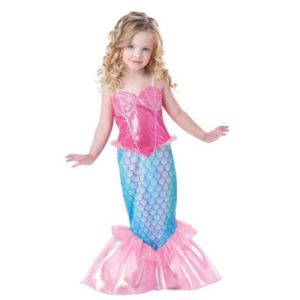 05501-the-little-mermaid-ariel-kids-girls-dresses-princess-cosplay-halloween-costume