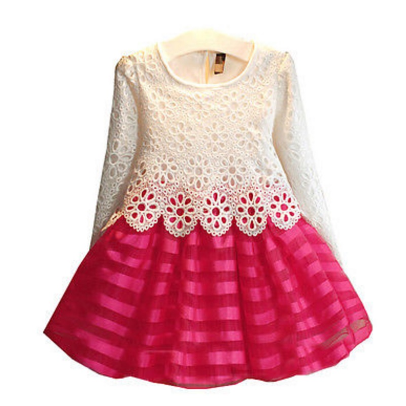 summer baby girl dress princess vestidos kids lace dress