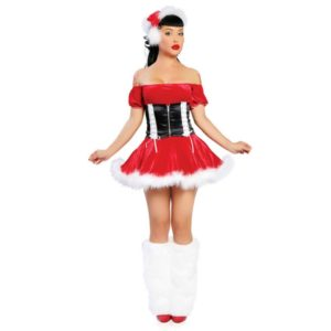 11001-costume-for-women-red-christmas-costume-short-sleeve-sexy-costume-for-christmas