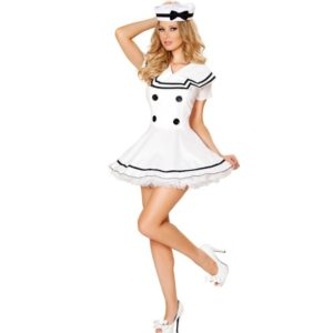 14001-classic-women-solid-white-sailor-costume-halloween-costumes-for-women-carnival-navy-costume-party-dress