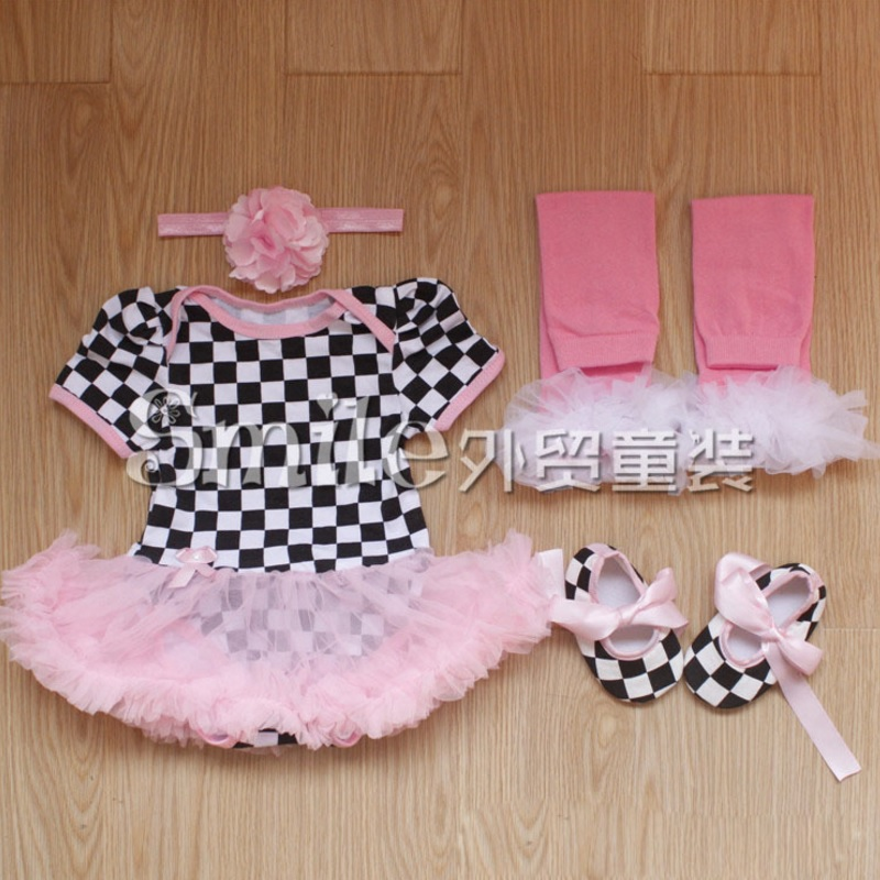 17104 summer style baby girl clothes cotton infant clothing set baby tutu set include headwear - Baby gear for small spaces style ...