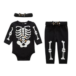 19501-night-light-cotton-baby-costume-skull-full-sleeve-romper-with-headband-pp-pants-3-pieces-set-newborn-baby-girl-clothes