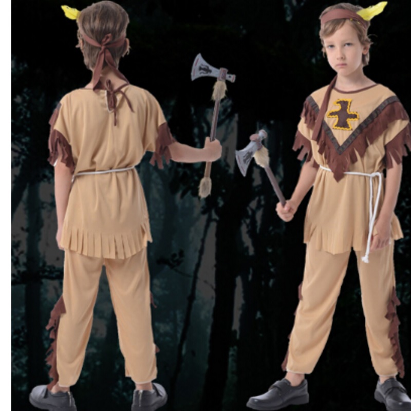 Kid India Costume Super Hero Costume For Boy Birthday Gift