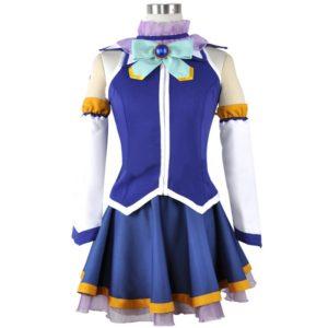 93301 Anime Kono Subarashii Sekai ni Shukufuku wo! Cosplay Costumes Aqua Cosplay Dress Kazuma Satou Megumin Uniform