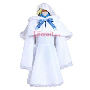 96001 Love Live! Rin Hoshizora Winter Cosplay Costume