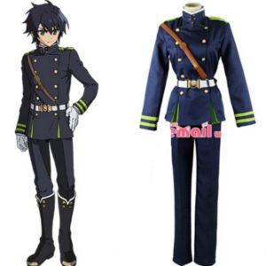 97101 Men Anime Seraph Of The End Yuichiro Hyakuya Cosplay Costume