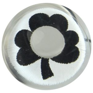 COSTUME COLOR LENS DUEBA COSPLAY LENS BLACK FLOWER WHITE HALLOWEEN CONTACT LENS