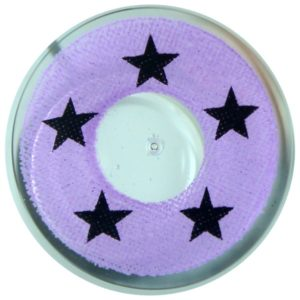 COSTUME COLOR LENS DUEBA COSPLAY LENS BLACK STAR VIOLET HALLOWEEN CONTACT LENS