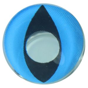 COSTUME COLOR LENS DUEBA COSPLAY LENS BLUE CAT EYES HALLOWEEN CONTACT LENS