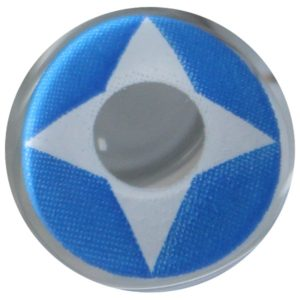 COSTUME COLOR LENS DUEBA COSPLAY LENS BLUE NINJA KERORO HALLOWEEN CONTACT LENS