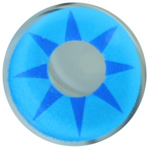COSTUME COLOR LENS DUEBA COSPLAY LENS BLUE STAR HALLOWEEN CONTACT LENS