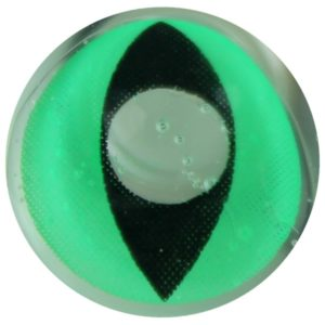 COSTUME COLOR LENS DUEBA COSPLAY LENS GREEN CAT EYES HALLOWEEN CONTACT LENS