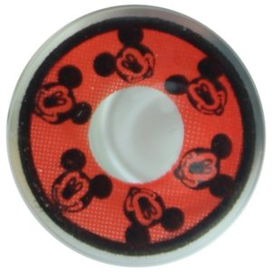 COSTUME COLOR LENS DUEBA COSPLAY LENS RED MICKY MOUSE HALLOWEEN CONTACT LENS
