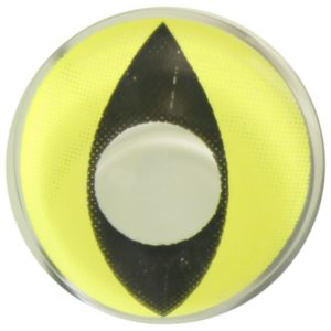 COSTUME COLOR LENS DUEBA COSPLAY LENS YELLOW CAT EYE HALLOWEEN CONTACT LENS