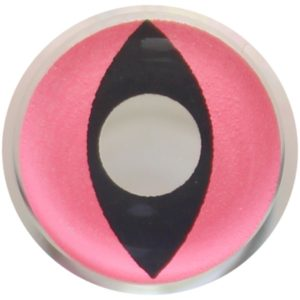 COSTUME COLOR LENS DUEBA FANCY PINK CAT HALLOWEEN CONTACT LENS