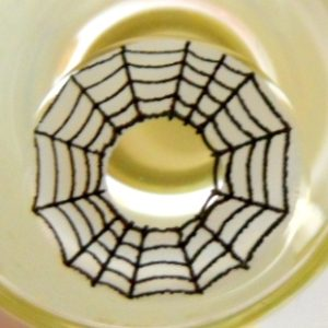 COSTUME COLOR LENS GEO SF-50 CRAZY LENS COBWEB HALLOWEEN CONTACT LENS
