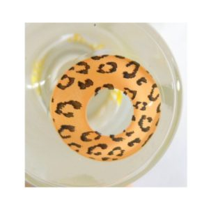 COSTUME COLOR LENS GEO SF-63 CRAZY LENS LEOPARD BROWN HALLOWEEN CONTACT LENS