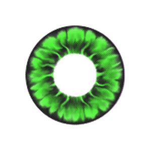 COSTUME COLOR LENS MIMI DAISY GREEN CONTACT LENS