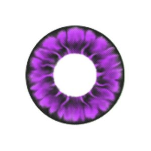 COSTUME COLOR LENS MIMI DAISY VIOLET CONTACT LENS